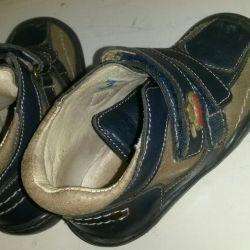 Μπότες δέρματος Kotofey 22