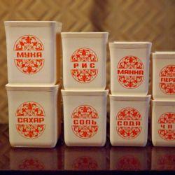 Συστατικά της ΕΣΣΔ για χύμα προϊόντα