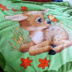 Children's fleece blanket