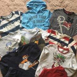 Things for a boy 1-2 years and 4-5 years