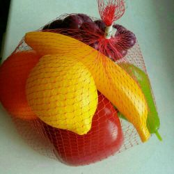 Toys Fruits. Early development