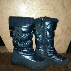 Winter Scandium membrane boots.