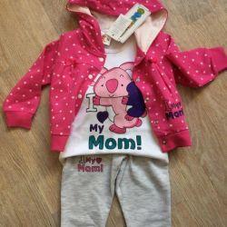 New three piece suit Kancaro baby kids
