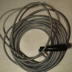 Cablu pentru curățarea conductei de canalizare