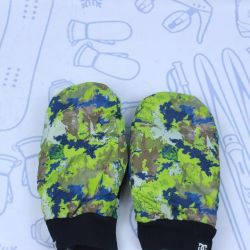 Mittens for men DC little bu