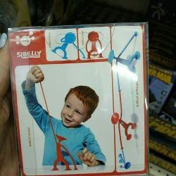"""Sibelly Suction Cup Designer """"Suction Man"""