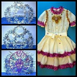 2-Dresses and 3-Crowns New Year