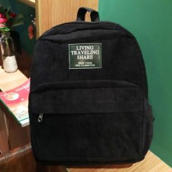 Corduroy backpack) new