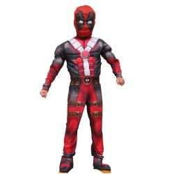 Deadpool costume with muscles, X-Men