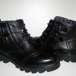 Boots 36-40r Genuine leather