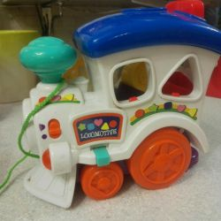 Παιδικό παιχνίδι με ατμομηχανή