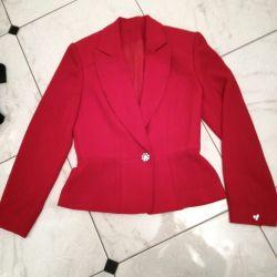 Jacket of crepe