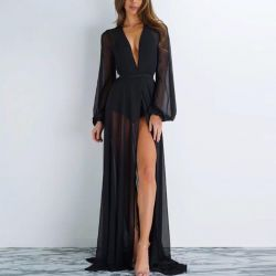 Long black tunic