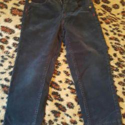 Вельветові брюки