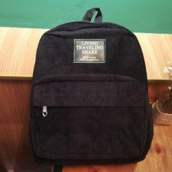 Velveteen Backpack