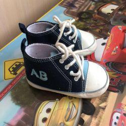 Bebeğin ilk ayakkabıları