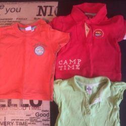 Tricouri pentru 4-6 luni