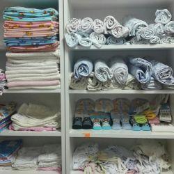 Diapers, undershirts, sliders