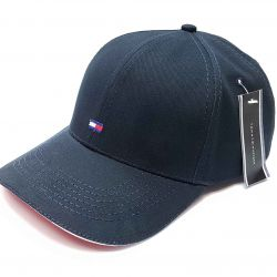 Șapcă de baseball Tommy Hilfiger (s19t) cu capac albastru