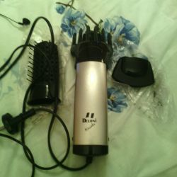 Hair dryer with nozzles