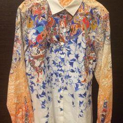 Μπλούζα πουκάμισο Eterna 46 μέγεθος