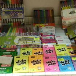 Stationery at half price liquidation
