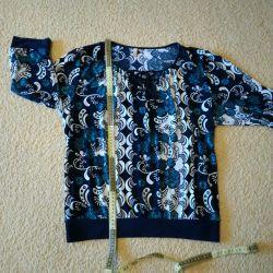 Μπλούζα (50-52-54) ρούχα, κομψό σακάκι