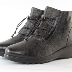 Boots Winter 36r-41r Genuine Leather