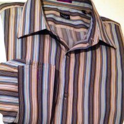 Ριγέ πουκάμισο μέγεθος 42 Paul Smith