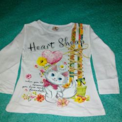 T-shirt is new. 98-104