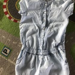 Overalls summer 5-7 years Benetton