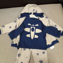 NEW 3 in 1 suit for a boy of 18-24 m. (Airplane)