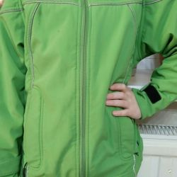 Green jacket, JAKO-O (spring-autumn)