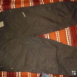 Укороченные джинсы, бриджи 48 раз, пр-во Германия