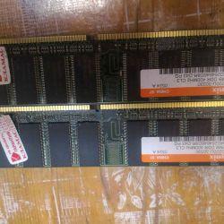 Module de memorie RAM 512 MB ddr 400 mhz buc