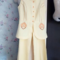 Suit trouser ((RETRO. From a chest. Grandmothers.