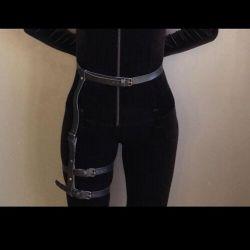 The leg belt pink
