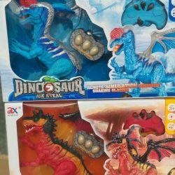 D / y üzerindeki dinozorlar