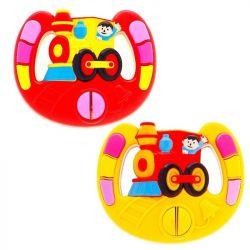 Детский музыкальный руль Веселые гонки