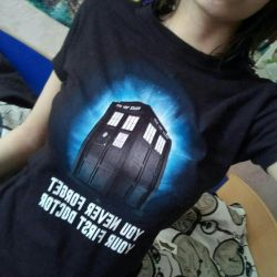 T-shirt με το Doctor Who