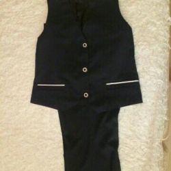 School uniform for a plump girl