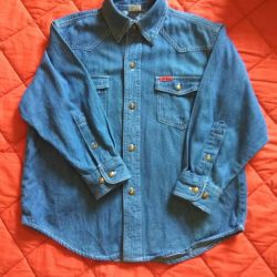 Denim shirt for the boy.