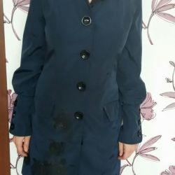 The raincoat is stylish