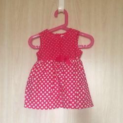 Dress 9-12month new