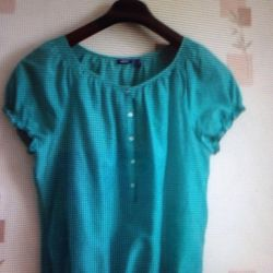 Blouse of bright salad color MGXX