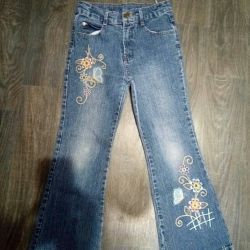 Jeans for girls.