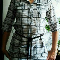 Μπλουζάκι πουκάμισο θηλυκό νέο, Ιταλία
