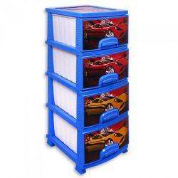 Dresser RP-421 4sections DECOR Wheelbarrows blue / white