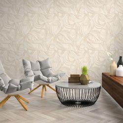 Wall-paper beige waterproof Euro Decor