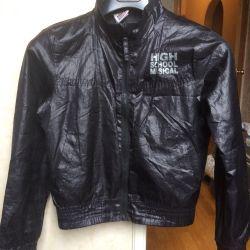 Jacket on a boy's windbreaker